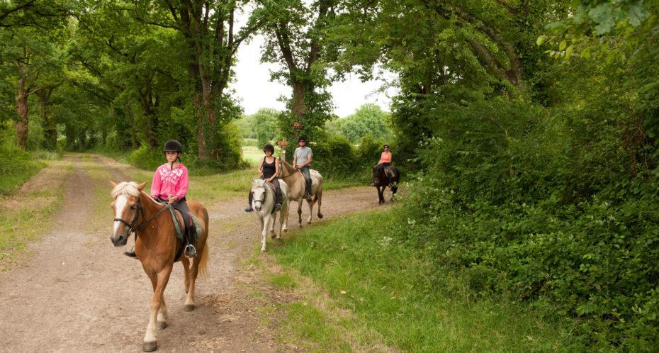 balade à poney à Lathus