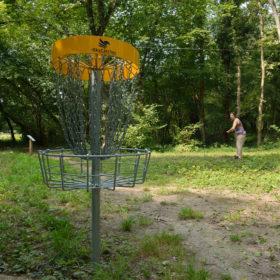 Parcours de disc'golf