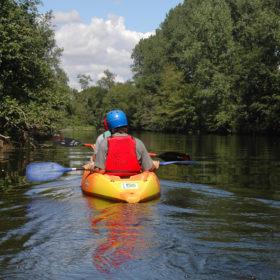 kayak on the Gartempe