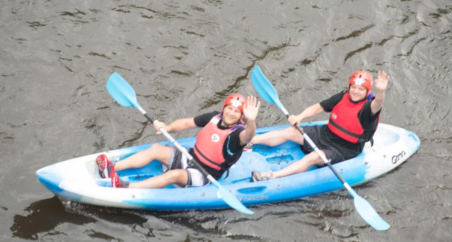 kayak sur la Gartempe adultes