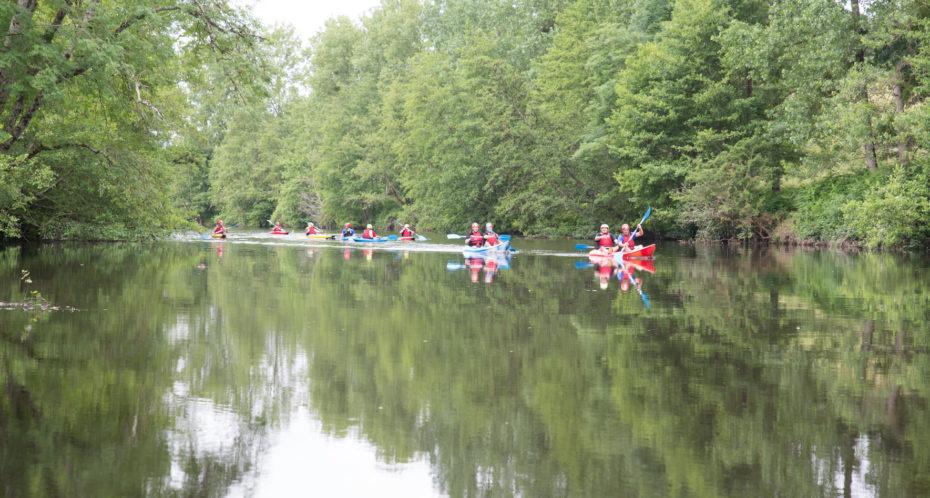 Stage kayak en rivière