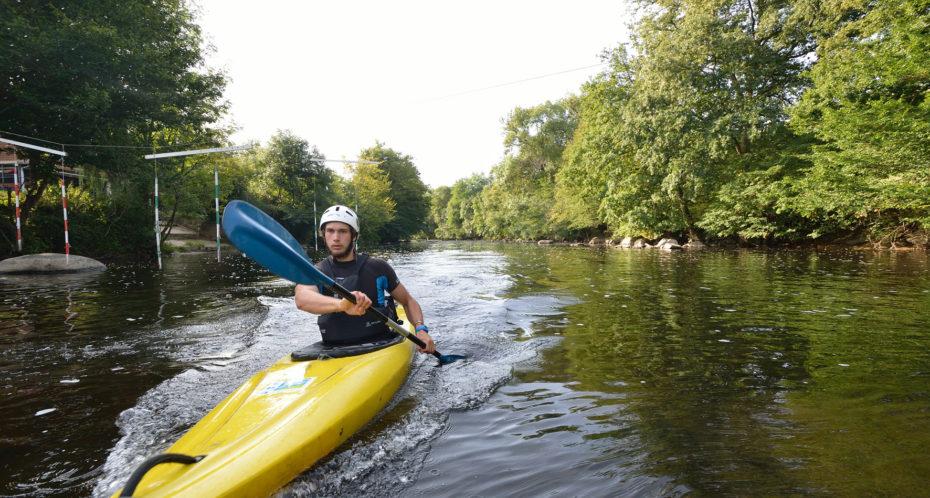 kayak sur la Gartempe