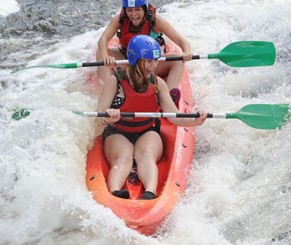 Stage kayak dans la vienne