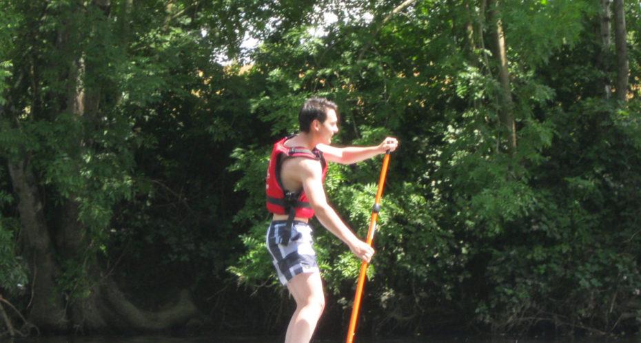 paddle sur la Gartempe