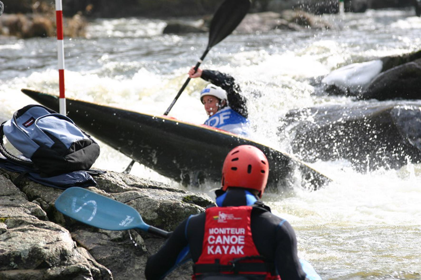 compétition kayak