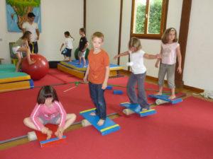 activité cirque avec des enfants