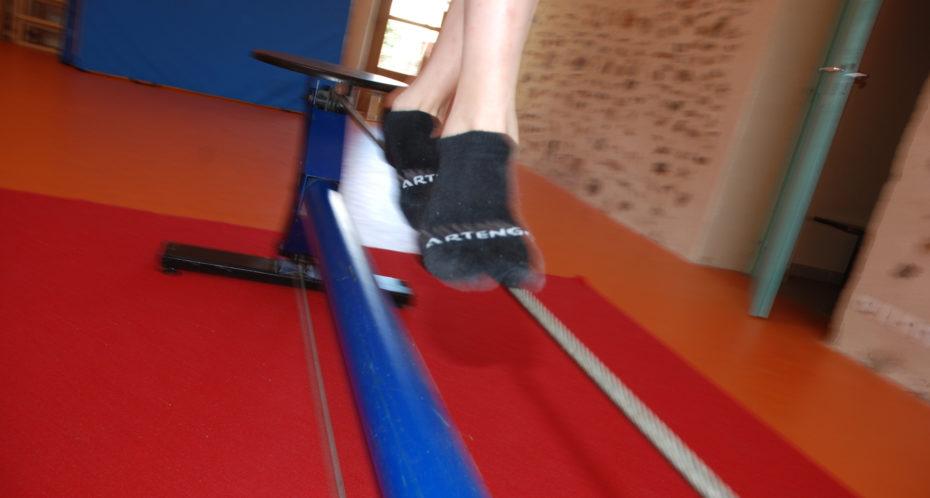 fil d'équilibre cirque