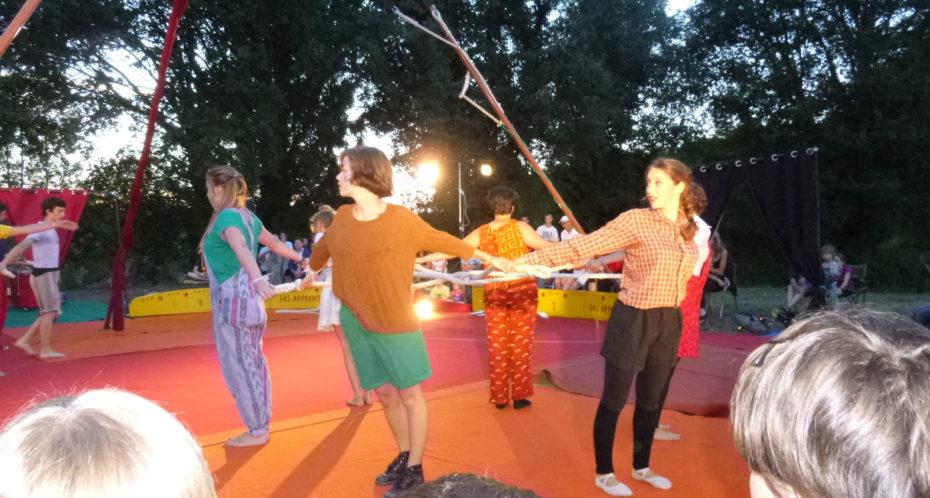 spectacle cirque en tournée