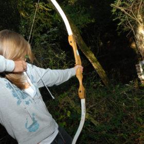 parcours tir à l'arc la nuit