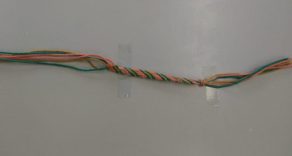 bracelets brésilien créés pendant le camp idées et créations
