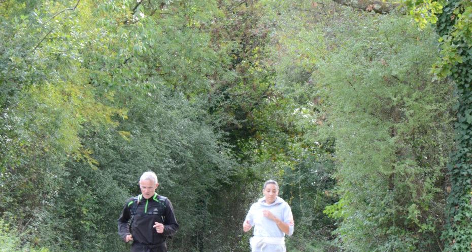Trail - course à pied CPA Lathus Vienne