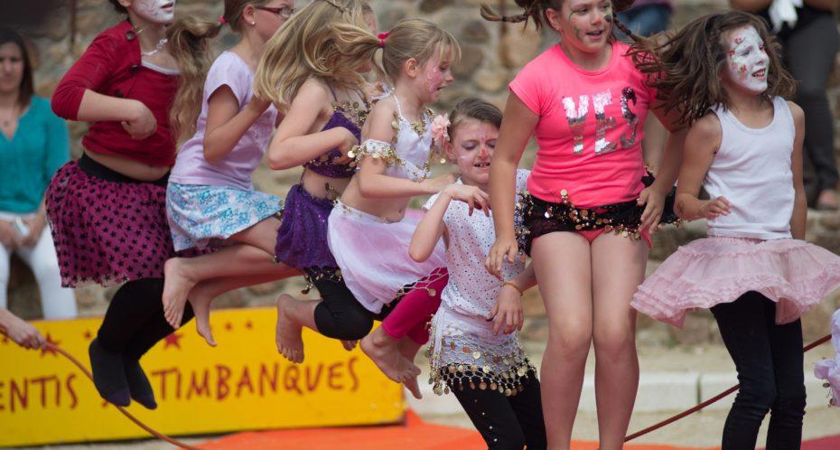 Séjour découverte cirque enfant CPA Lathus Vienne